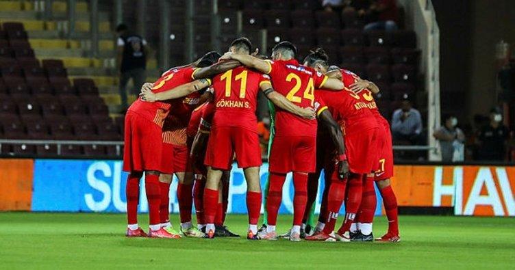 Galatasaray maçında Kayserispor'da 5 eksik!