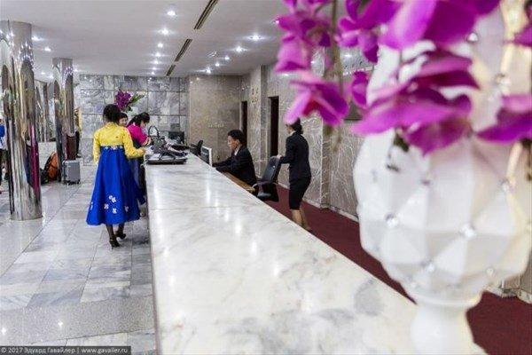 Kuzey Kore`nin ilginç oteli