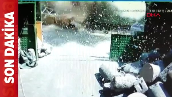 Son dakika: İstanbul'daki patlama anı görüntüleri ortaya çıktı | Video