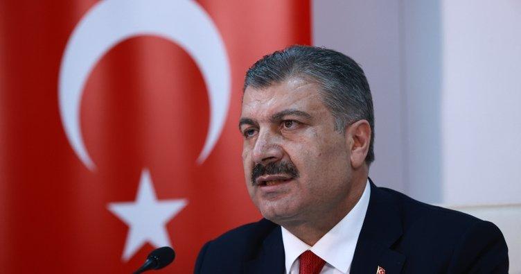 Sağlık Bakanı Fahrettin Koca'dan teşekkür
