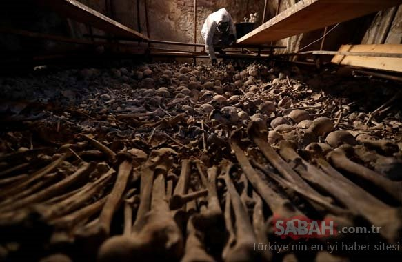 Çekya'da kemik kilisesi