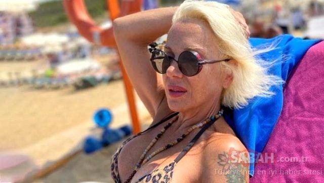 57 yaşındaki Billur Kalkavan leopar desenli bikinisiyle sosyal medyayı salladı! Billur Kalkavan fit vücuduyla ile yıllara meydan okuyor