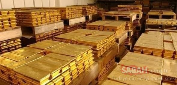 Ülkelerin altın rezervleri