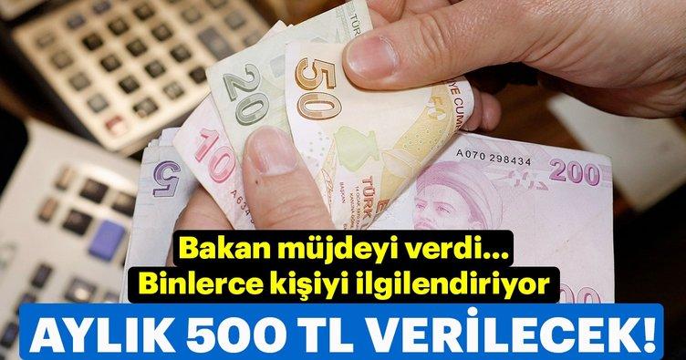 Son dakika... Bakan Selçuk'tan flaş açıklama! Aylık 500 lira verilecek...