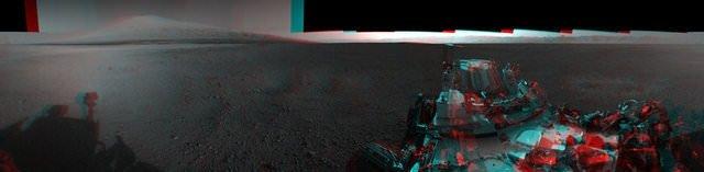 Robot gözünden 3 boyutlu Mars