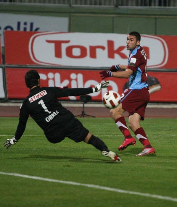 Konyaspor-Trabzonspor maçından kareler
