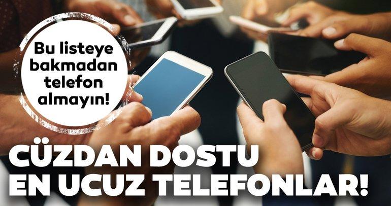 1000 lira altı cep telefonları! İşte 1000 lira ve altında fiyata sahip akıllı telefon modelleri
