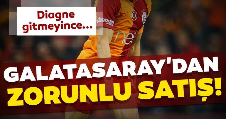 Galatasaray transfer haberleri! Galatasaray'da Diagne gitmezse satılacak futbolcu belli oldu