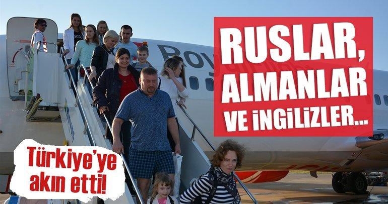 Türkiye'ye gelen turist sayısı yüzde 46 arttı