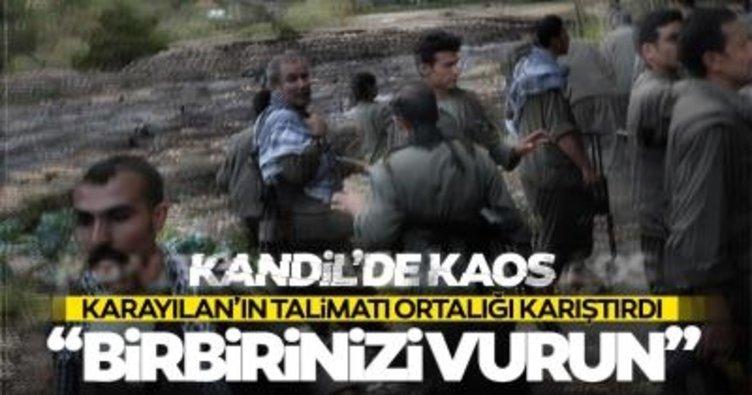 Son dakika haberleri: PKK'da çözülme devam ediyor! Karayılan'dan 'kaçanları vurun talimatı'