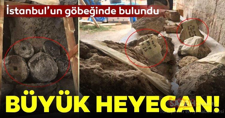 İstanbul'un göbeğinde bulundu! Büyük heyecan...