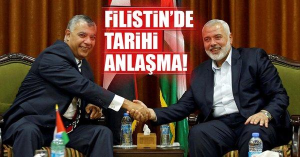 Filistin'de tarihi anlaşma: Abbas, Gazze'ye gidiyor!