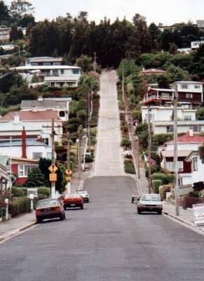 Dünyanın en dik caddesi