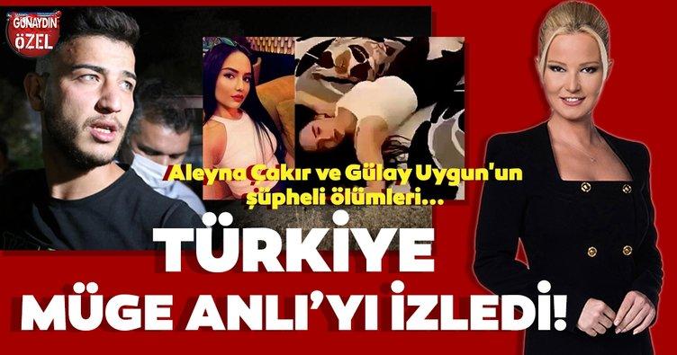 Türkiye Müge Anlı'yı izledi! Müge Anlı ile Tatlı Sert'de Aleyna Çakır ve Gülay Uygun'un şüpheli ölümlerinin araştırıldığı bölüm izlenme rekorları kırdı...