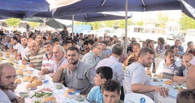 Tarsus sanayi esnafı Başkan Can'ı ağırladı