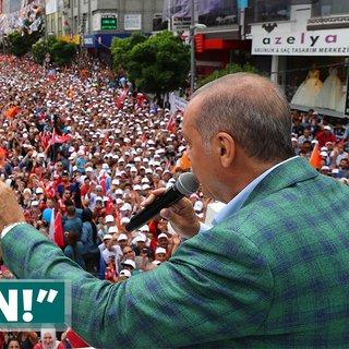 Son dakika: Cumhurbaşkanı Erdoğan İnce'nin miting rakamlarını açıkladı