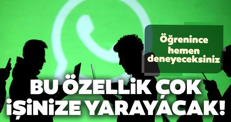 WhatsApp'ta boşluk tuşuna uzun süre basılı tutarsanız... WhatsApp'ta bu özellik çok işinize yarayacak