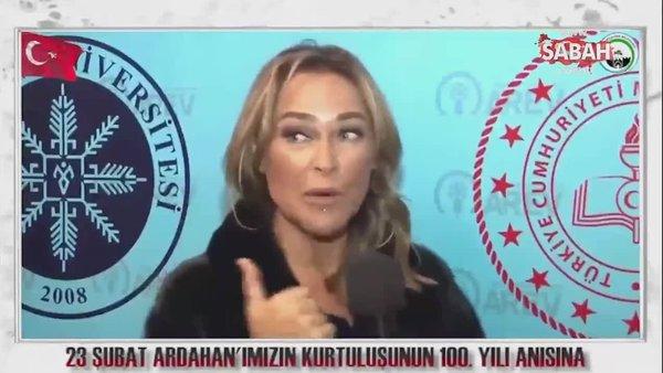 Ardahan'ın bağımsızlığının 100'üncü yılında ünlülerden mesaj   Video