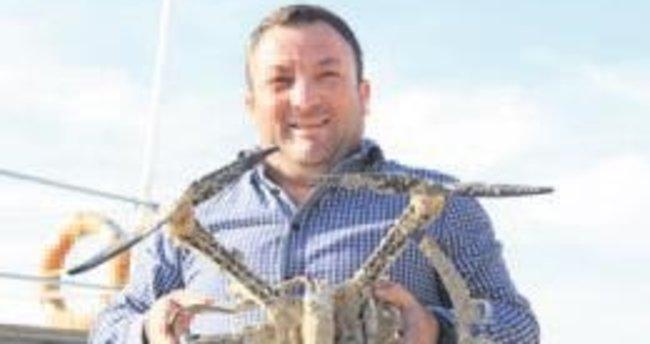 Denizden balık yerine, dron çıktı