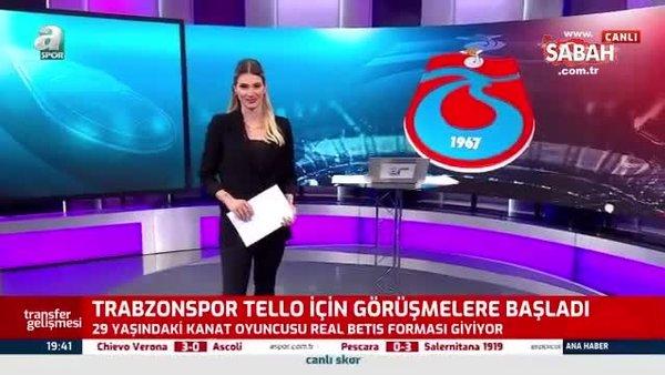 Trabzonspor'a eski Barcelonalı! Cristian Tello ile görüşmeler başladı...