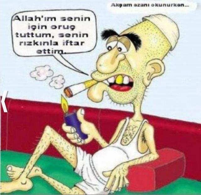 Tıklanma rekoru kıran Ramazan karikatürleri
