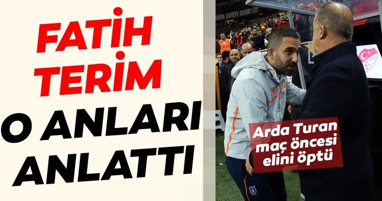 Galatasaray teknik direktörü Fatih Terim'den Arda Turan açıklaması