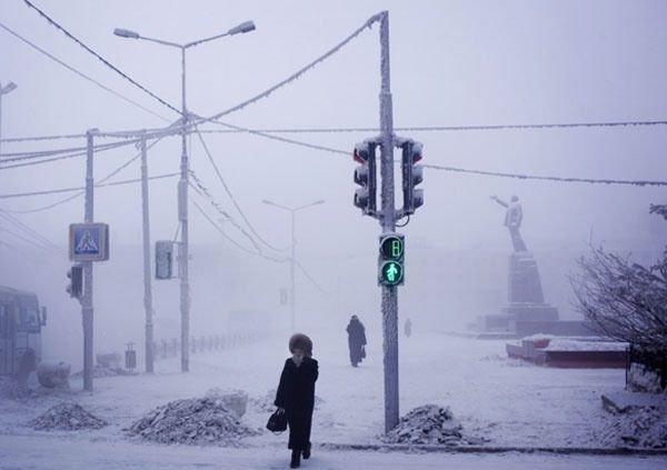 İşte dünyanın en soğuk şehri!
