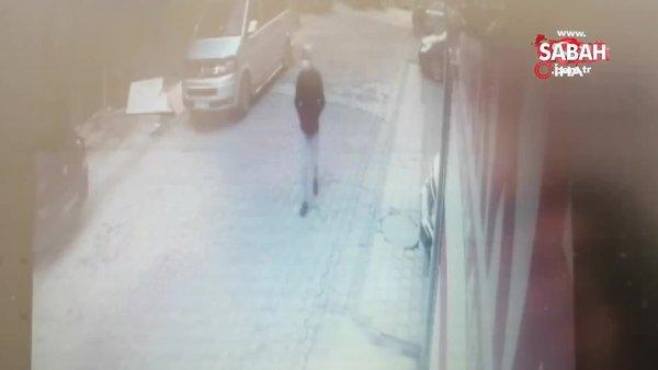 Kocaeli'den takibe aldıkları elektronik eşya dolu kamyoneti Sancaktepe'de dakikalar içinde böyle soydular | Video