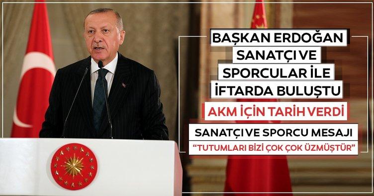 Erdoğan: 2021'de AKM'yi inşallah opera binası olarak yetiştireceğiz