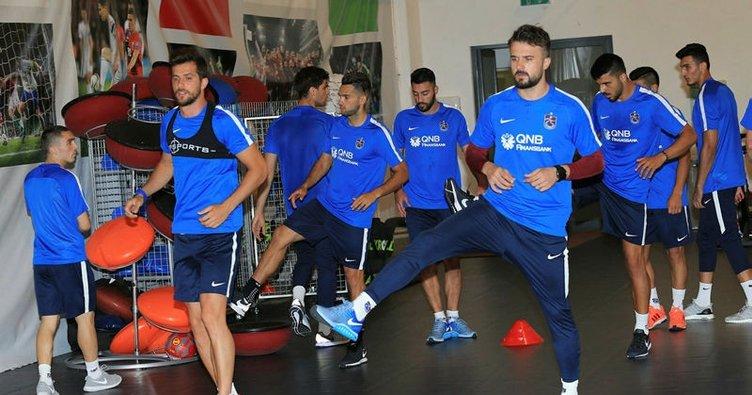 Trabzonspor'un Macaristan mesaisi başladı