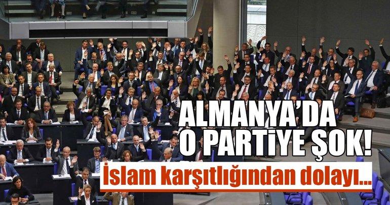 Almanya'da İslam karşıtı AfD Partisi'ne büyük şok!