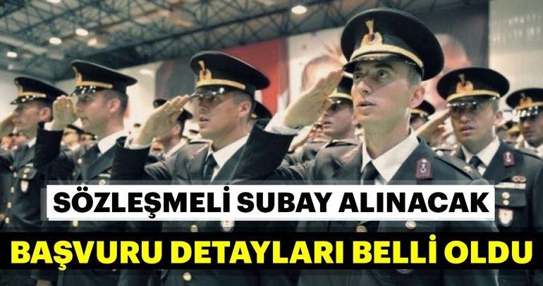 2019 yılı Jandarma Genel Komutanlığına ve Sahil Güvenlik Komutanlığına muvazzaf/sözleşmeli subay alınacak