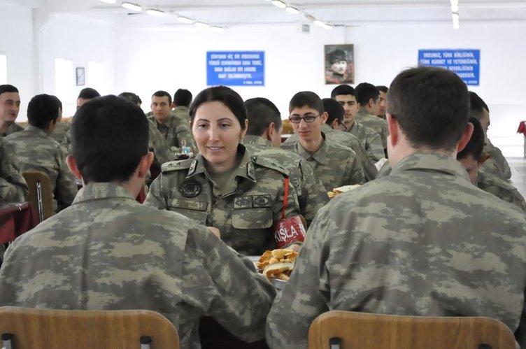TSK'nın gözbebeği muharip sınıf kadın subayı