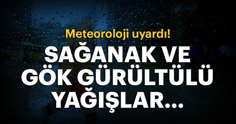 Meteoroloji'den son dakika hava durumu açıklaması! | İstanbul bugün havalar nasıl olacak?