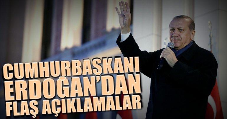 Cumhurbaşkanı Erdoğan CNN International'a konuştu