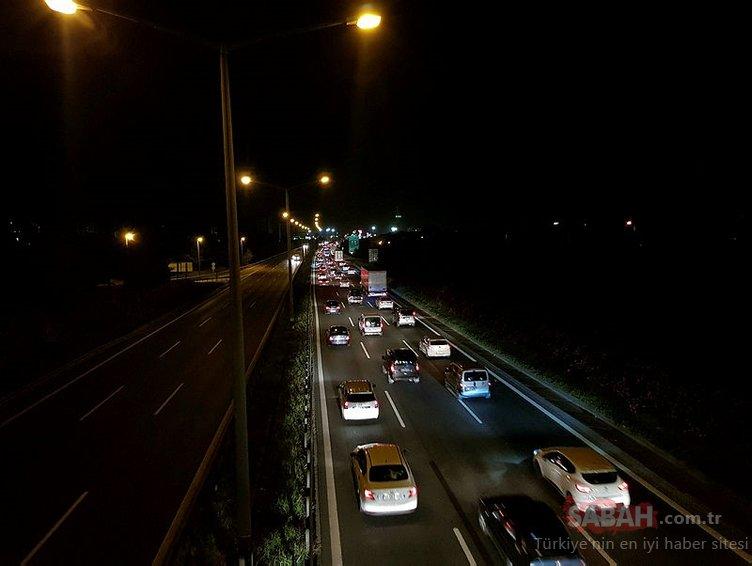 Ramazan Bayramı öncesi trafik yoğunluğu arttı!