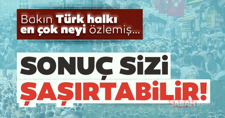 Son dakika: İşte Koronavirüs bitince Türk halkının yapacağı ilk şey!