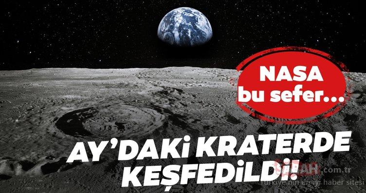 NASA gizlice Ay'a mı gitti? Ay'daki bir kraterde tüyler ürperten cisim bulundu!
