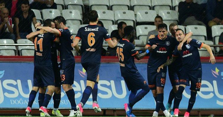 Başakşehir'den altın gol: 0-1