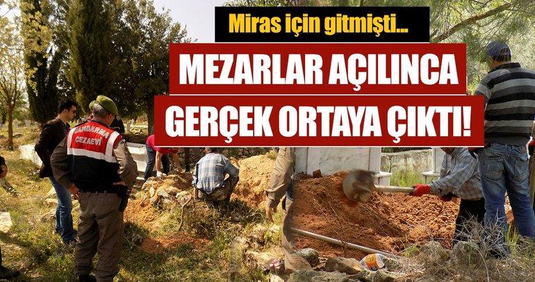 Son dakika: Aydın'da kuzenler kardeş çıktı, 6 mezar açıldı