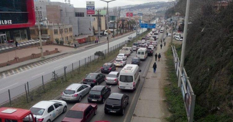 Trabzon'da trafiğe kayıtlı 61 plakalı araç sayısı 200 bini geçti