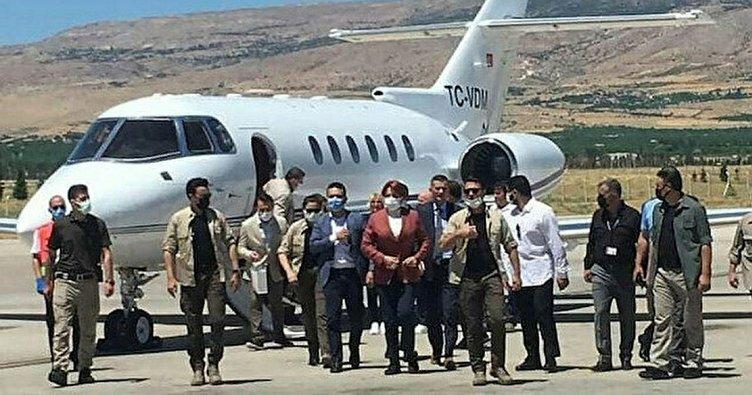 Meral Akşener 'Biz özel uçak kullanmayız' demişti! 1 ayda 16 kez uçmuş
