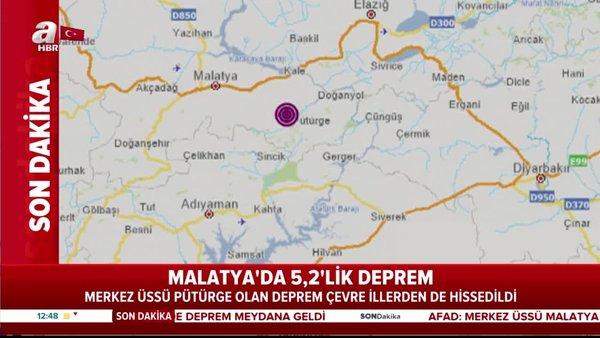 SON DAKİKA: Malatya deprem ile sallandı! 5.2 büyüklüğünde... AFAD ve Kandilli Rasathanesi son depremler listesi