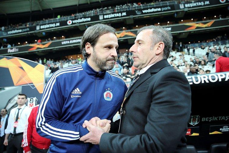 Bratislava'nın hocası Beşiktaş'a yenilmeyi hazmedemedi!