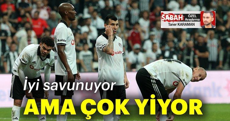 Beşiktaş iyi savunuyor ama çok yiyor!