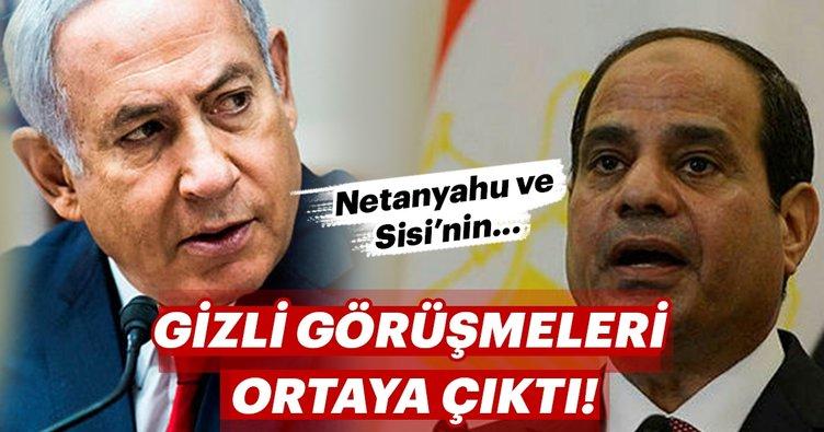 Netanyahu ile Sisi'nin gizlice görüştüğü iddiası