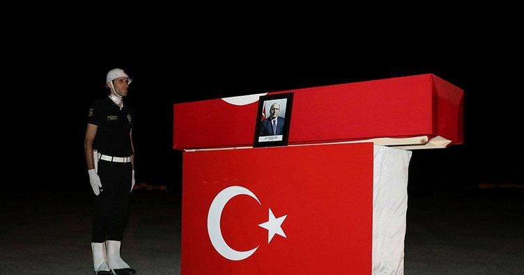 Haluk Dursun'un cenazesi İstanbul'a getirildi