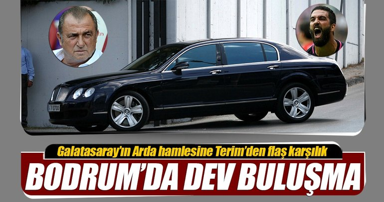 Bodrum'da dev buluşma! Fatih Terim ve Galatasaray...