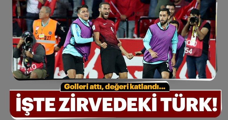İşte değeri en yüksek Türk futbolcu