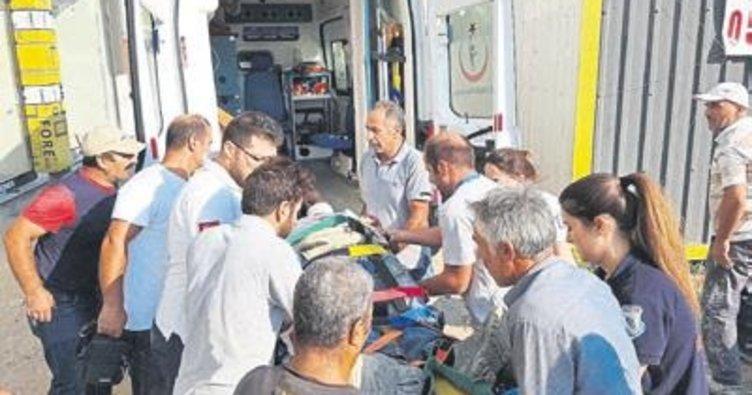 İnşaatta merdiven çöktü: 1 işçi öldü
